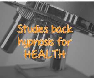 Hypnosis and health