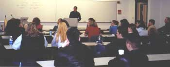 Keith lectures at the University of Washington's Psychology Program