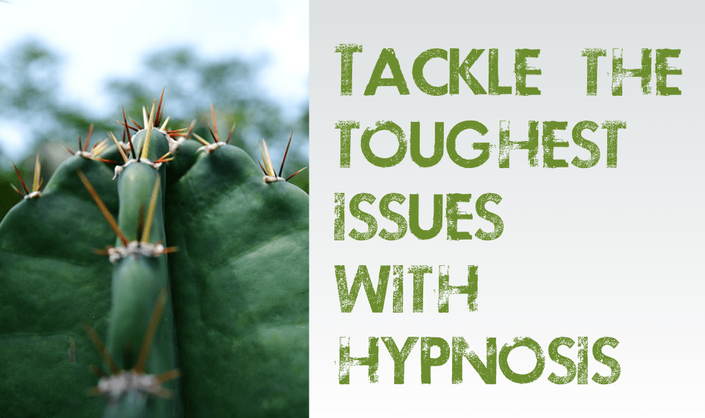 Tackle the toughest issues