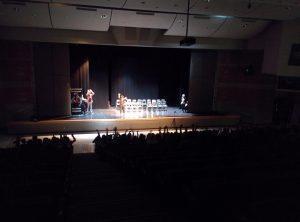 Stage hypnosis volunteers